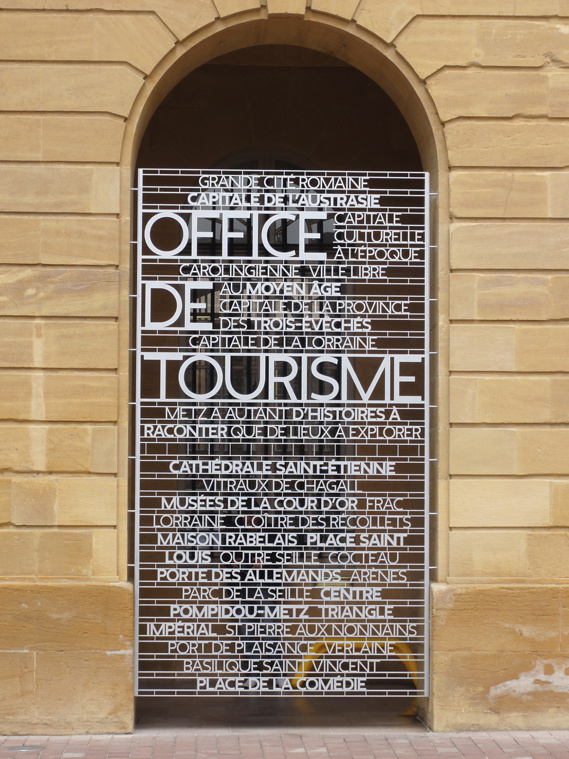 Creative Review Putting Metz on the Map #signage