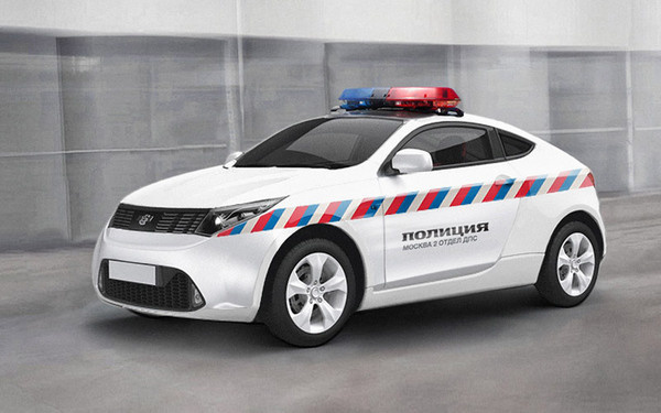 Rebranding of the police of Russian Federation #white #pattern #goverment #police #militia #signal #rebranding #brand #russia #car