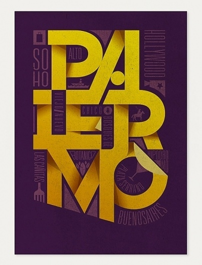 New Typography Designs » Design You Trust – Social Inspirations! #poster #palermo