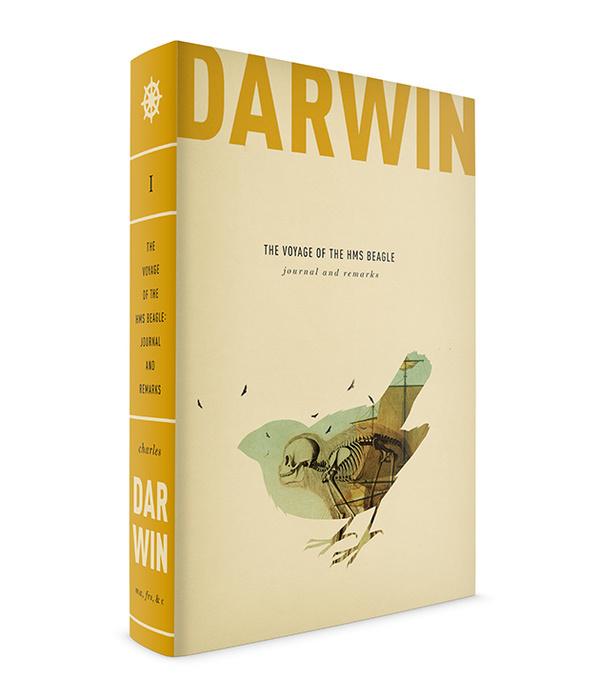 DARWIN BOOK SERIES Caleb Heisey Design #poster