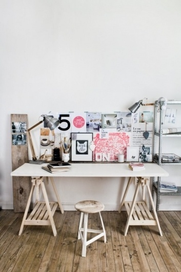 Vosgesparis: Creative spaces #desk #workspace