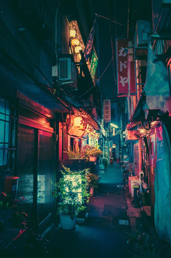 alley neon