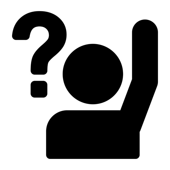 See more icon inspiration related to question, student, ask, school, class, education and raise on Flaticon.
