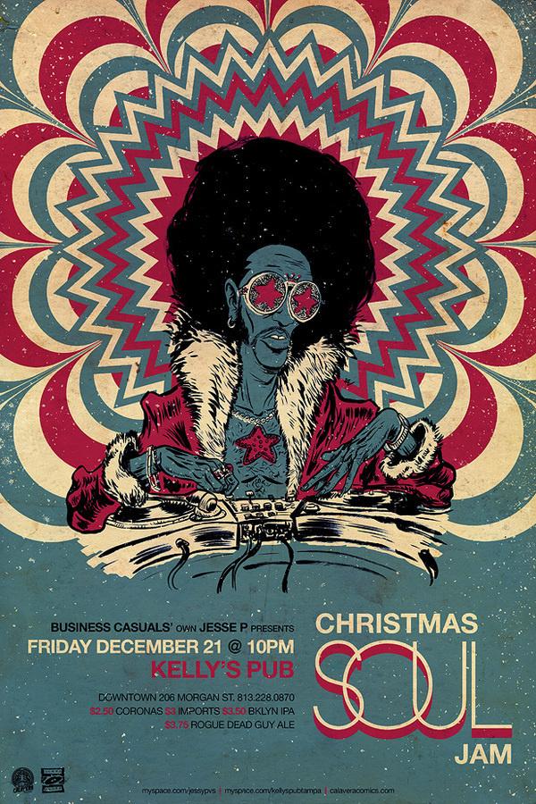 Vinyl Fever poster on Behance #funky
