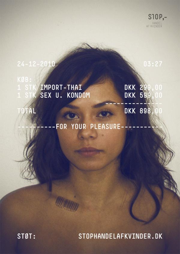 stophandelafvinder.dk #print #design #graphic #advertisement #women #typography