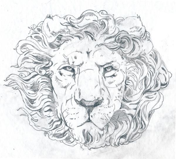 BLOG_j_OAKLEY_LION_lin #crown #lion #two #drawing #king #sketch