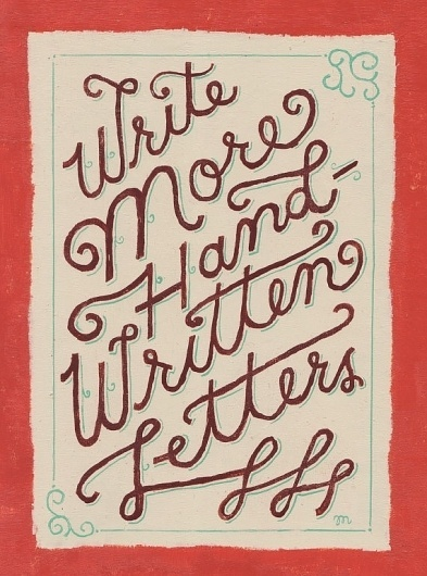 Handwritten by MaryKateMcDevitt on Etsy #illustration #handwritten