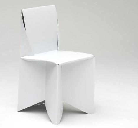 folding origami paper chair #furniture