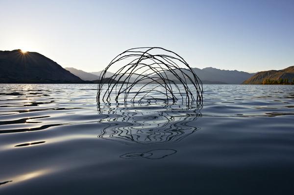 Ephemeral Environmental Sculptures Evoke Cycles of NatureJanuary 1 #natural #sculpture #nature