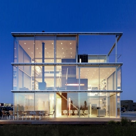 Merde! - Architecture cjwho: Rieteiland House by Hans... #architecture