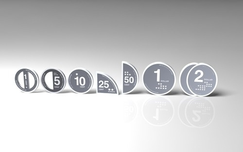 Infographic Coins « petitinvention #infographic #design #product #money #cutout