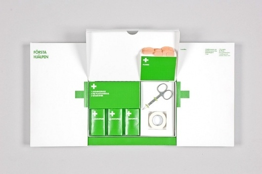 Portfolio of graphic designer Tobias Eriksson #aid #first #eco #packaging #design #kit