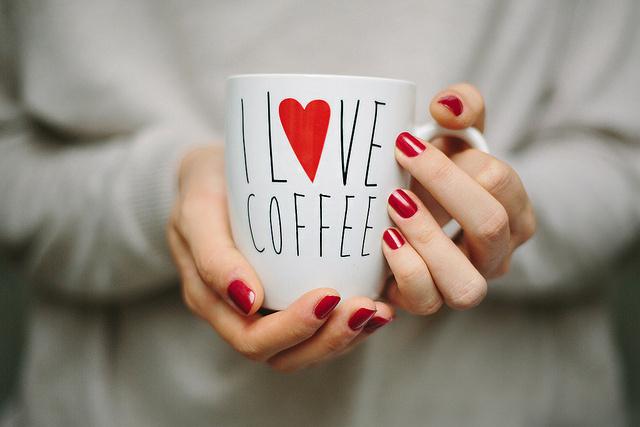 I love coffee by M. Klasan on Flickr #coffee #photography #love
