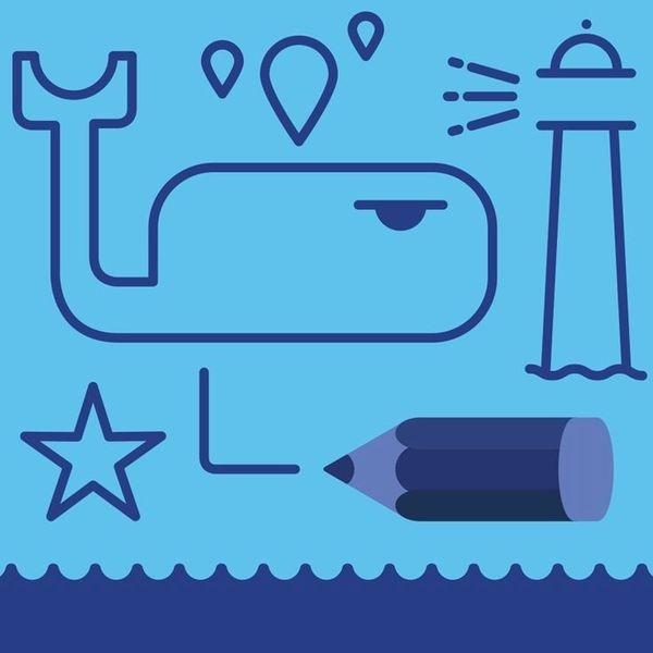 Ilustración #illustration #vector #minimal #sea