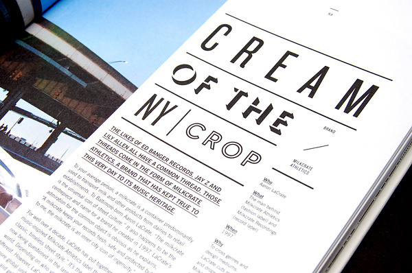 MagSpreads Magazine Design and Editorial Inspiration: T world: The Journal of T Shirt Culture #magazine