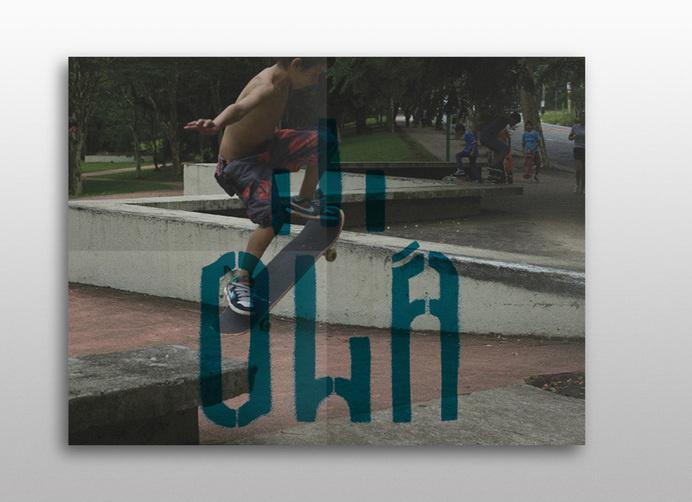 Olá Skateboarding - Mr Miles Johnson #ola #paulo #design #skateboarding #street #direction #art #poster #sao #brazil #typography