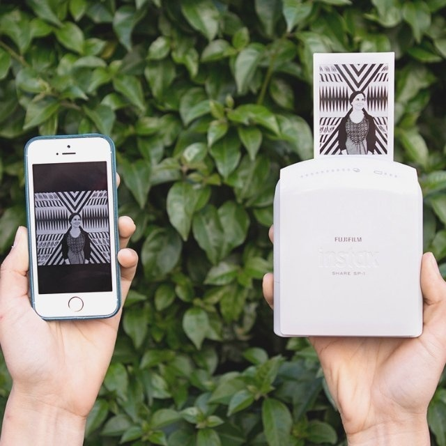 Instax Share SP-1 Smartphone Printer by Fujifilm #tech #flow #gadget #gift #ideas #cool