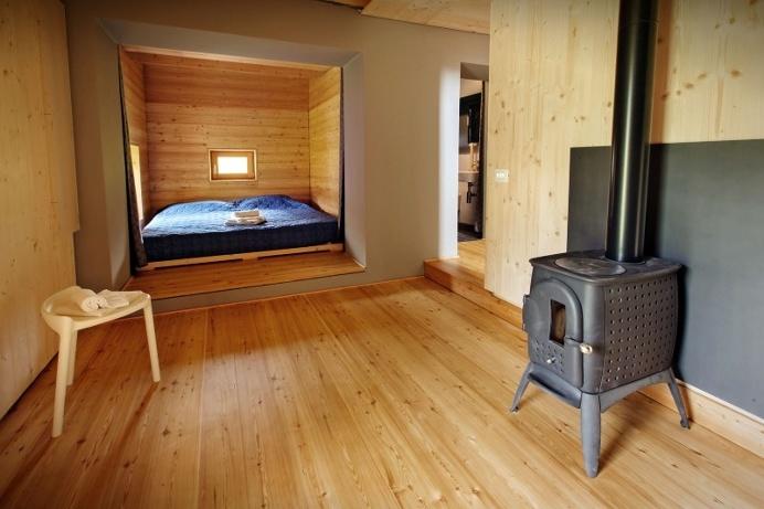 Old barn transformed into a retreat #architecture #interiordesign