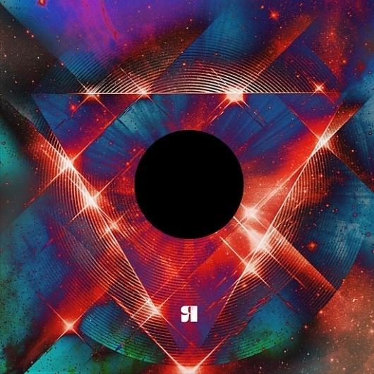Mr L'Agent - DOUGLAS LEE #lee #space #cover #vinyl #triangle #stars #douglas #art #shiny