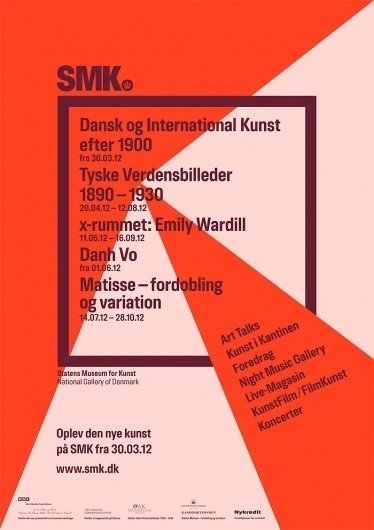 Best Poster Museum Smk Statens Kunst Atwtp Images On Designspiration