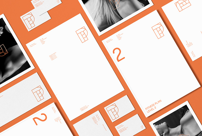 Paul Thomson by Duane Dalton #stationary #graphic design #brand #brand identity #orange