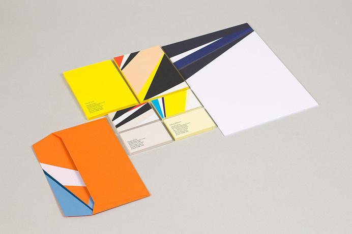 Visual identity and stationery designed by Build for British typographic design studio Studio Aves. #identity