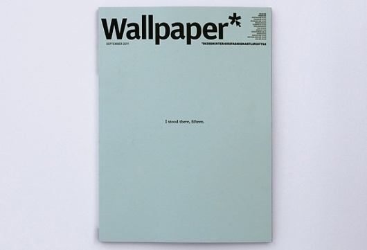 Creative Review - 15 Wallpaper* covers by 15 image makers #wallpaper #magazine