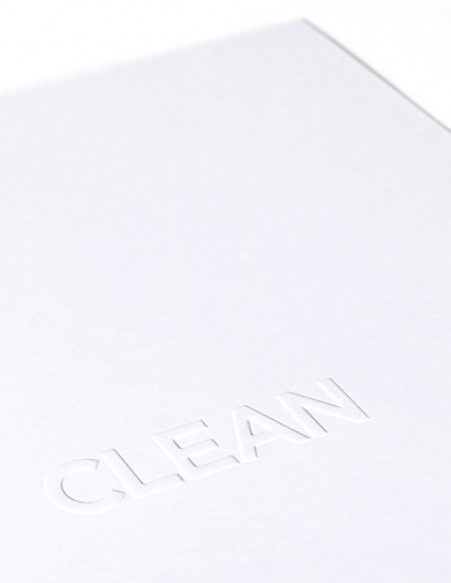 Clean | Lovely Stationery #more #less #is #clean