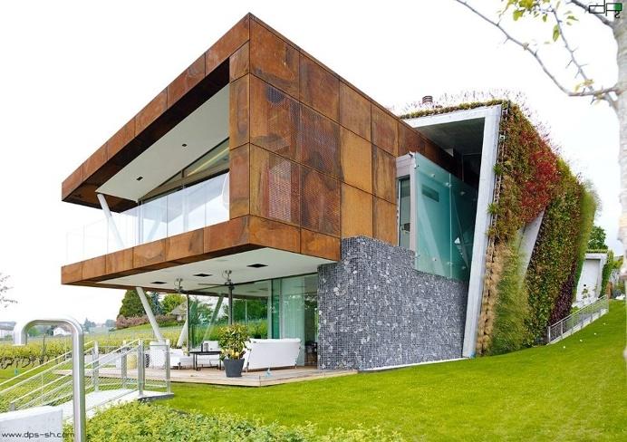 Captivating Eco Friendly House Design