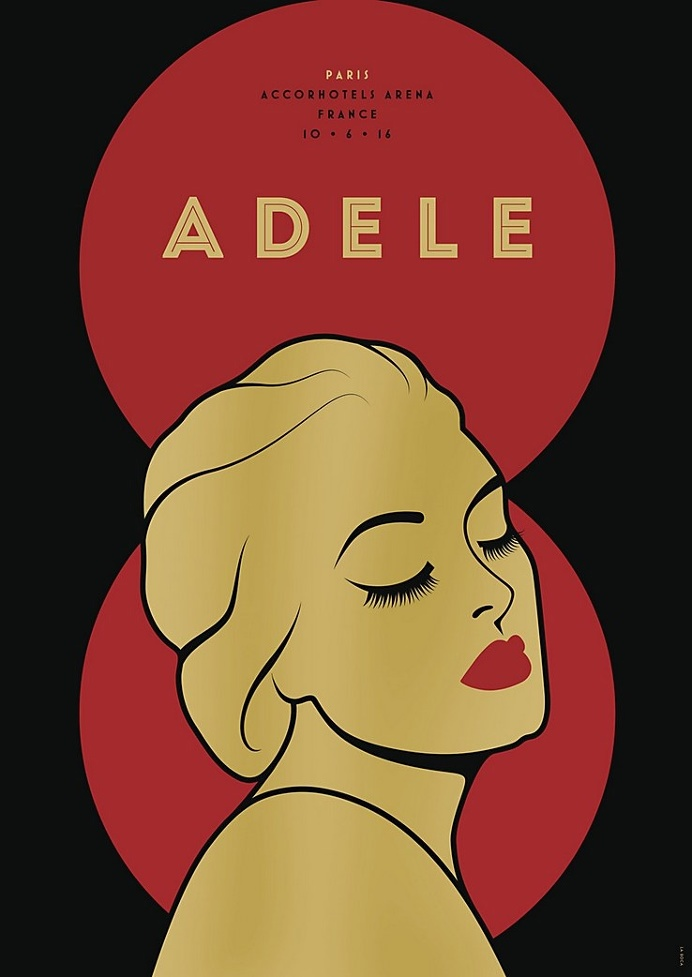 Adele posters