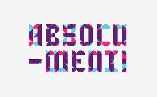 Benedictine type on Typography Served #typography