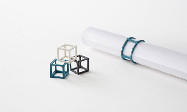 Cubic rubber band Nendo #elastic #band