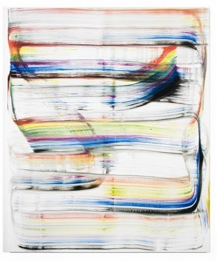 Untitled (mega brush) - Julia Dault #canvas #on #art #oil