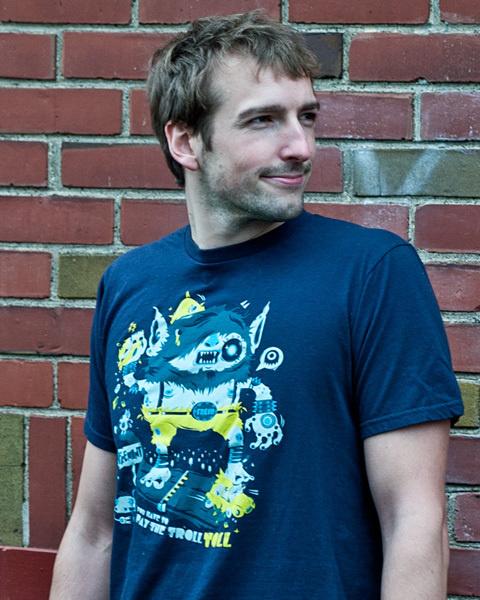 F.R. Trollkien on the Behance Network #illustration #shirt