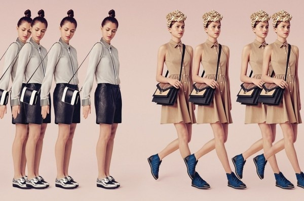 RoAndCo Studio: Loeffler Randall F/W 2013 #jones #adams #direction #roanne #art #ashley #nieminen #lotta