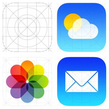 iOS Flat Icons