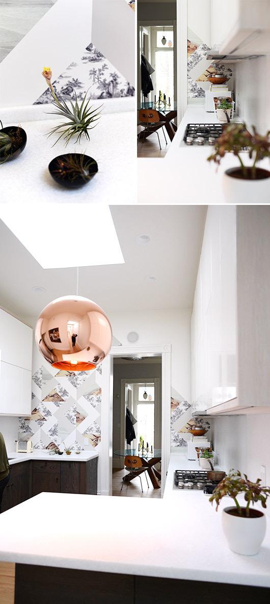 SUZANNE SHADE KITCHEN REMODEL #interior #design #decor #kitchen #deco #wallpaper #decoration