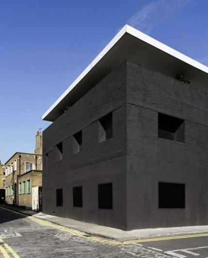Dezeen » Blog Archive » Designed in Hackney: Dirty House by David Adjaye #architecture
