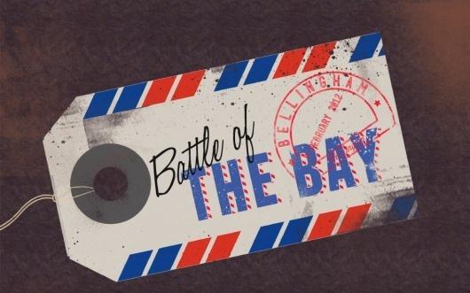 Battle of the Bay « 1985 Creative #design #illustration #photoshop #type #typography