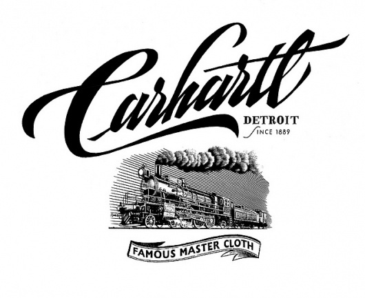 Carhartt SS 2011 - Carhartt Heritage   Flickr - Photo Sharing! #calligraphy #lettering