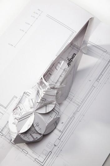 Pop Up Lily Shoe by Nadav Bignitz #shoe #origami #art #folding #paper