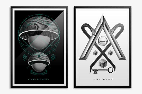 Projects / ALAMO Firmorama #illustration #design #graphic #poster