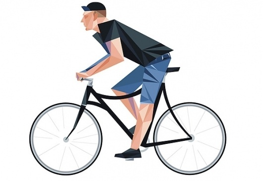 Paulus Quiros Bespoke Bicycles on the Behance Network #illustration #murray #dave #bike