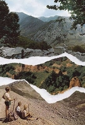 The Collective Loop #pauline #nature #collages #bastard #mountains