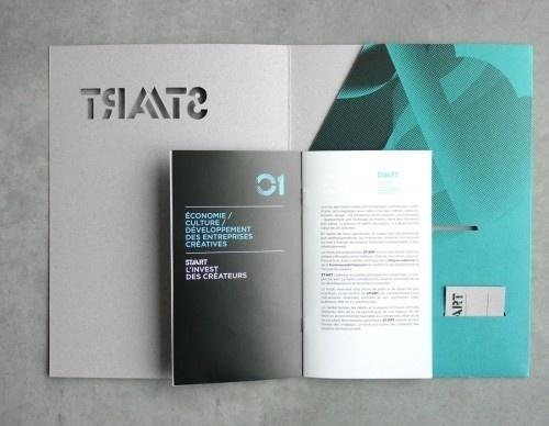 HungerPack #die #print #cut #brochure