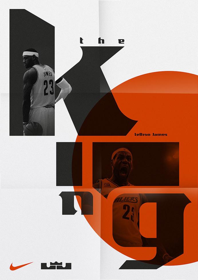 LeBron James — Display Typeface on Behance