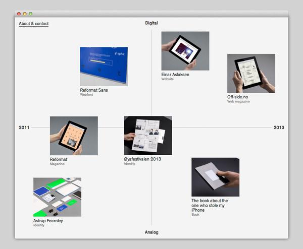 Kim Andre Ottesen #website #layout #design #web