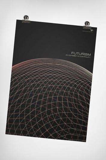 Futurism on the Behance Network #page #c #futurism #print #simon #poster