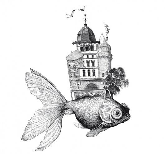 ForumAID #aid #fish #illustration #architecture #forum