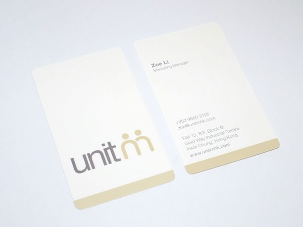 baseline workshop / unit m namecard #graphics #namecard #identity